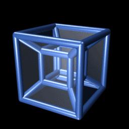 """Eight Cell Tesseract Image"" by mmhydrazinen04"