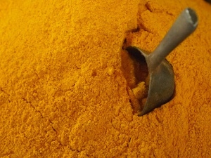 """Powdered Turmeric Spice"" by Cherrie Rhodes"