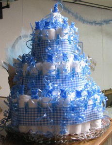"""Diaper Cake"" by audreyjm529"