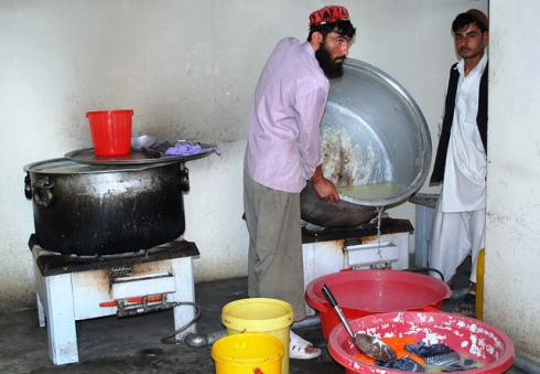"""Afghans Prepare to Pasteurize Milk"" by isafmedia"