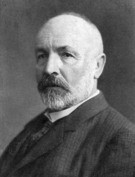 """Georg Cantor"" by an unknown photographer via Wikimedia Commons"