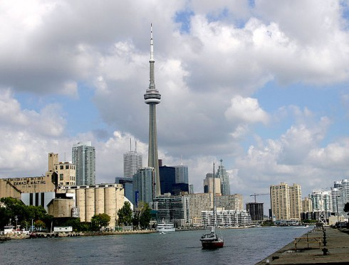 """Toronto Skyline from Billy Bishop Airport"" image by beachdigital (George Socka)"